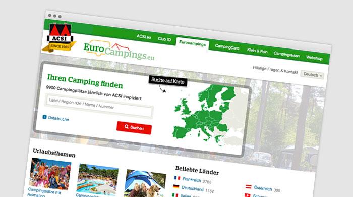 ACSI Eurocampings - Campingführer | Campingplatzführer bei Camping Royal