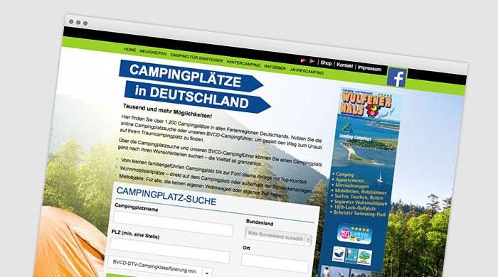 BVCD Campingführer | Campingplatzführer bei Camping Royal