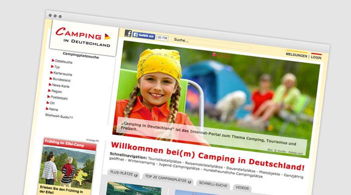 Camping in Deutschland - Campingführer | Campingplatzführer bei Camping Royal