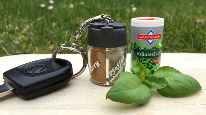 Mini-Gewürze-Sets - Haushalt-Tipps bei Camping Royal