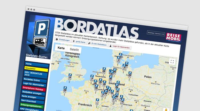 Bordatlas - Stellplatzführer - Stellplatz finden bei Camping Royal