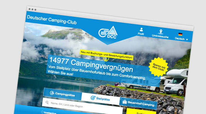 DDC-Campingführer - Stellplatzführer - Stellplatz finden bei Camping Royal