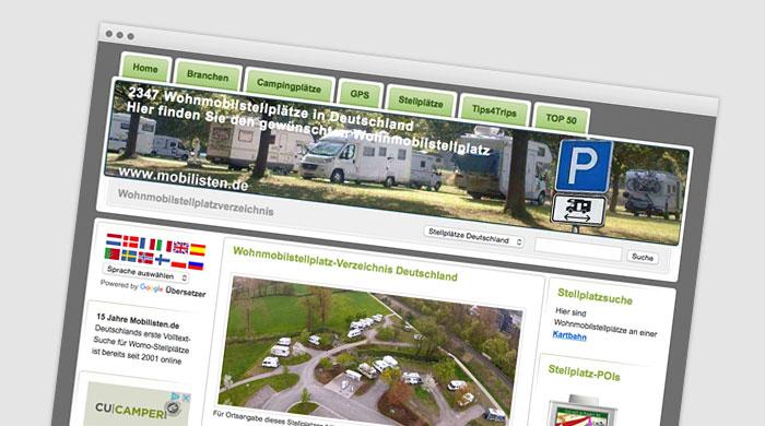 Mobilisten.de - Stellplatzführer - Stellplatz finden bei Camping Royal