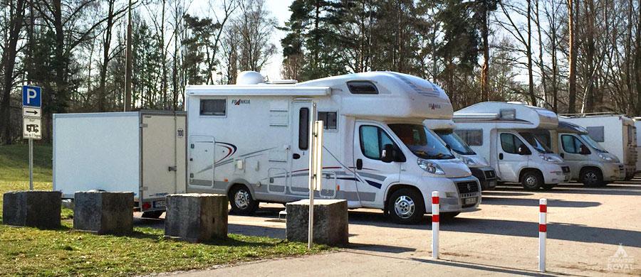 Unterkünfte online finden - Stellplatzführer und Stellplätze bei Camping Royal