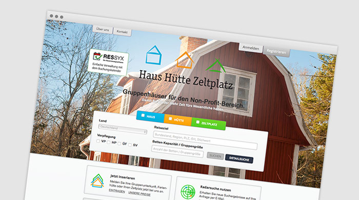 Haus Hütte Zeltplatz - Zeltplatzführer - Zeltplatz finden bei Camping Royal