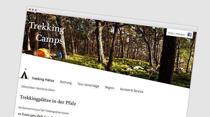 Trekking Camps - Zeltplatzführer - Zeltplatz finden bei Camping Royal