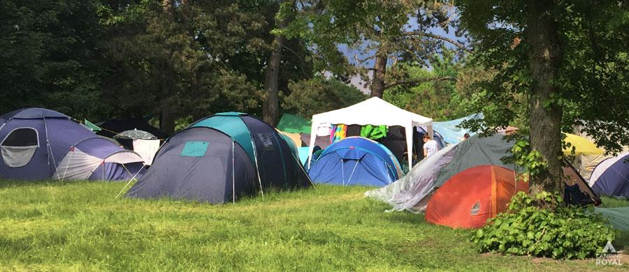 Unterkünfte online finden - Zeltplatzführer und Zeltplätze bei Camping Royal
