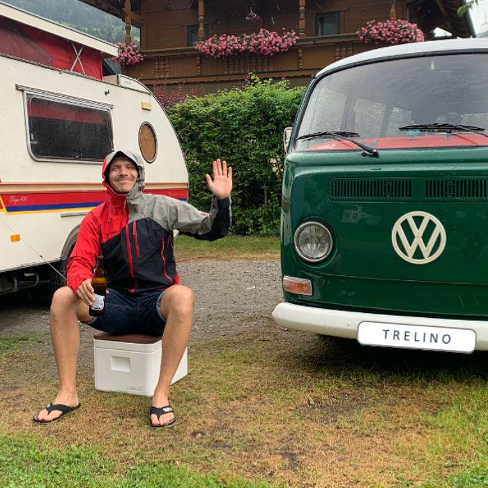 TRELINO® Trenntoilette - Autark im Bulli / VW-Bus oder Van unterwegs oder auf dem Festival