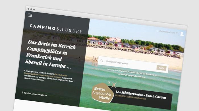 Campings.Luxury - Glampingplatz finden - Glamping Unterkunft bei Camping Royal