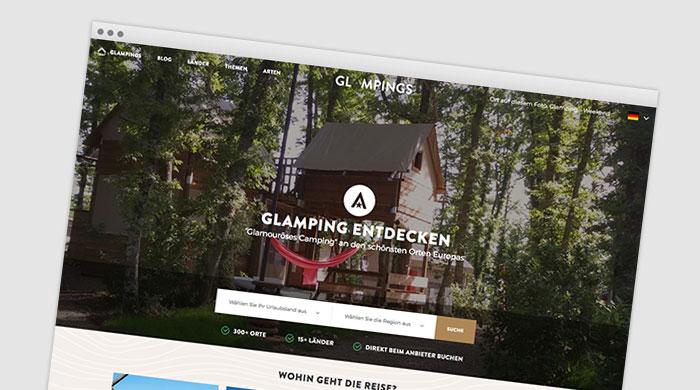 Glampings - Glampingplatz finden - Glamping Unterkunft bei Camping Royal