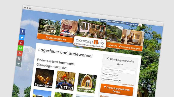 glamping.info - Glampingplatz finden - Glamping Unterkunft bei Camping Royal