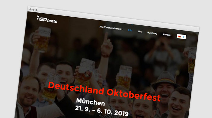 GPtents Komfortzelte Oktoberfest Wiesn München