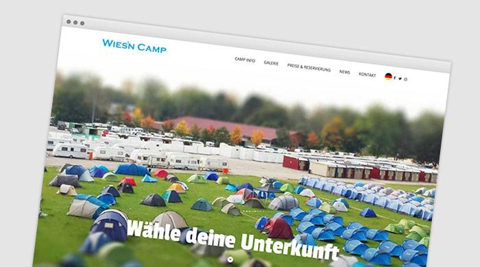 Wiesn-Camp Oktoberfest München