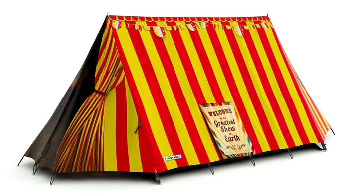 """Zelt personalisieren """"Big Top Tent"""" - FieldCandy"""