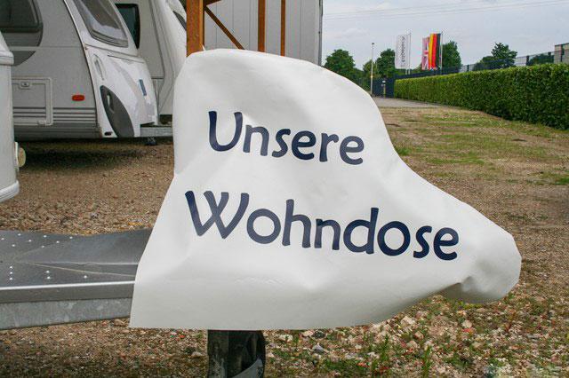"""Deichselhaube """"Unsere Wohndose"""" - Haubentraum"""