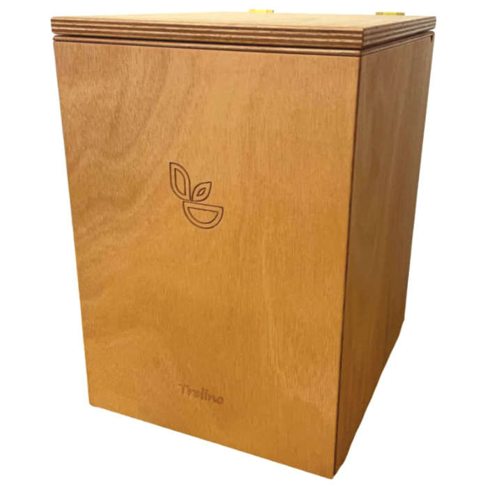 TRELINO® L Trenntoilette aus Holz Campingtoilette für Van Wohnmobil – DIY-Ideen Ausbau – Do it yourself